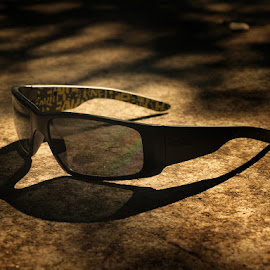 Waiting for the sun by Francisco Cardoso - Artistic Objects Clothing & Accessories ( sun glasses, glasses, shadow,  )