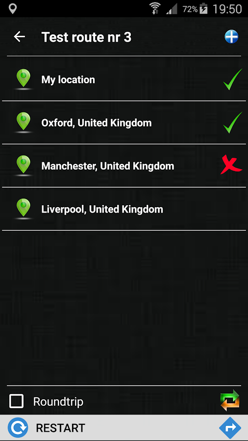 MultiGo route planner and GPS Screenshot 7