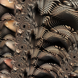 Enmeshed by Amanda Moore - Illustration Abstract & Patterns ( digital art, fractal art, fractal, digital, fractals )