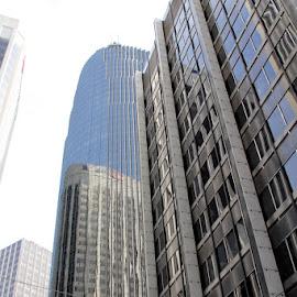 REFLECTION II by Jody Frankel - Buildings & Architecture Office Buildings & Hotels