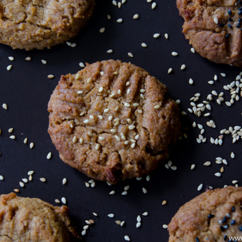 Soft and Chewy Peanut Butter Miso Cookies