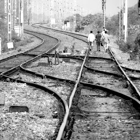 when trains dont arrive........... by Vatsal Patel - Transportation Trains
