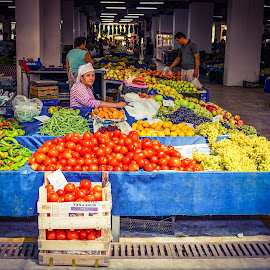 Turkish Indoor Market by Paul Milligan - People Street & Candids ( shop, market, candid, shopping, people,  )