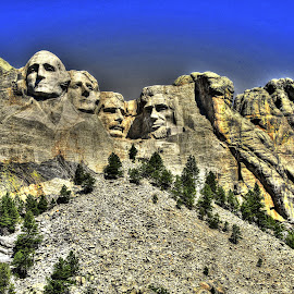 Mount Rushmore by Ron Olivier - Digital Art Places ( mount rushmore,  )