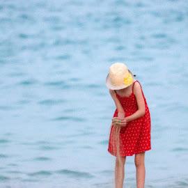 Playing in the sand by Anngunn Dårflot - Babies & Children Children Candids