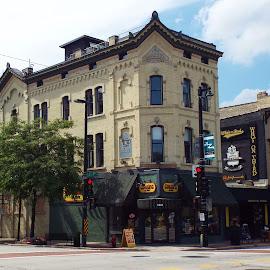J Hinkel Building 1877 by Dale Moore - Buildings & Architecture Architectural Detail ( milwaukee, wisconsin, tourist, historic district, tourism, restaurant, bar, historic )
