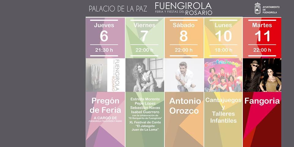 Fangoria - Feria del Rosario
