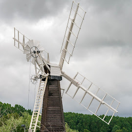 Old Wind Pump by Adele Price - Buildings & Architecture Public & Historical (  )