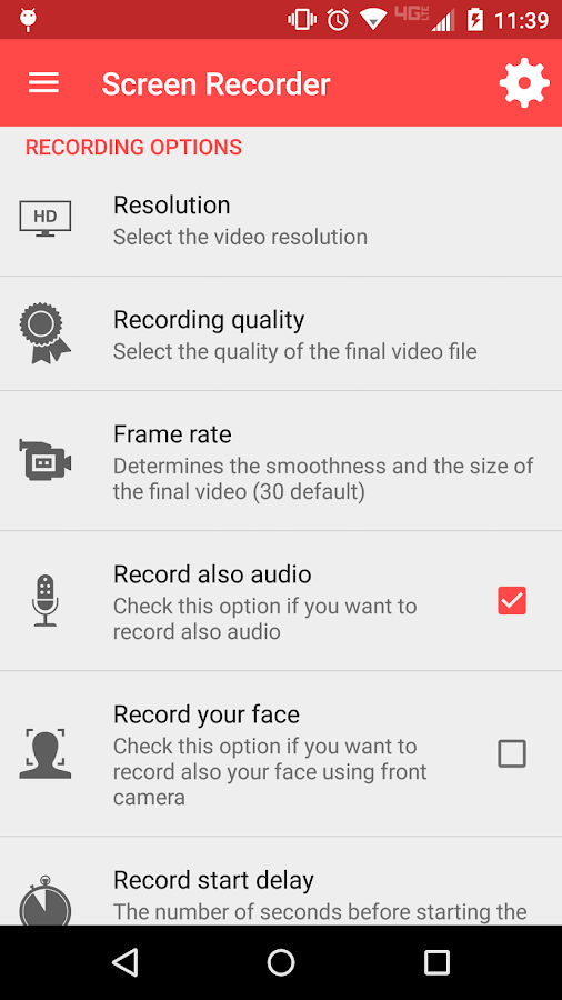 Screen Recorder Screenshot 1
