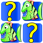 Fish Card Matching Games free Icon