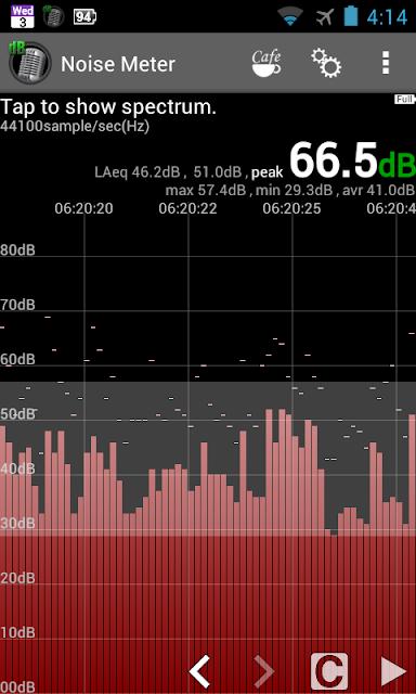 Noise Meter screenshots