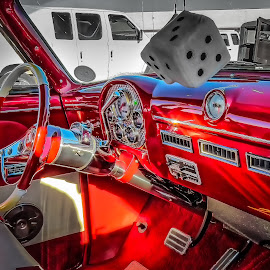 Dicey Interior by Ron Meyers - Transportation Automobiles
