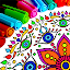 APK Game Mandala Coloring Pages for iOS