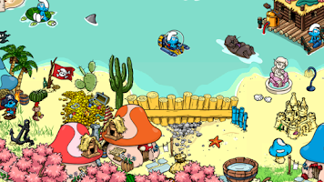 Screenshot of Smurfs' Village