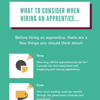 What to consider when hiring apprentices