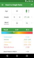 Screenshot of BMI Calculator – Weight Loss