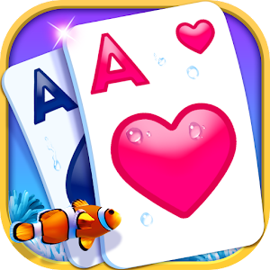 Solitaire-Beautiful SeaWorld theme, funny CardGame For PC / Windows 7/8/10 / Mac – Free Download