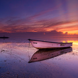 Sunrise in Bali by Ade Irgha - Transportation Boats