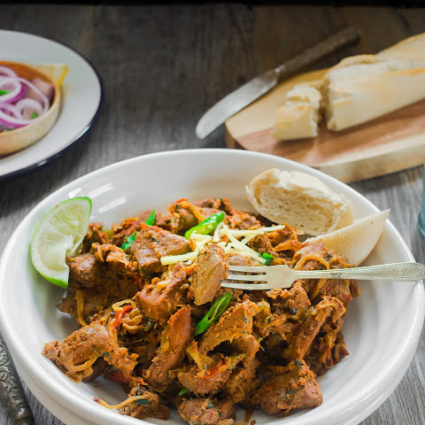 Spicy Lamb/Mutton Liver - Kaleji Masala