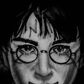 The Boy Who Lived by Israel  Padolina - Drawing All Drawing ( sketch, harry potter, portrait, drawing, daniel radcliffe )
