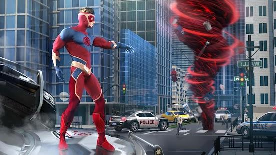 Hurricane Superhero : Wind Tornado Vegas Mafia for pc