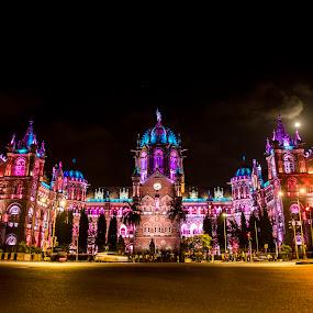 Chatrapaji Shivaji Terminus by Monish Kumar - Buildings & Architecture Public & Historical ( mumbai )