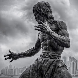 Bruce Lee by Gary Chin - Buildings & Architecture Statues & Monuments