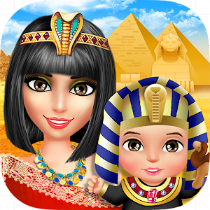 Princess Egypt: Baby Care Fun