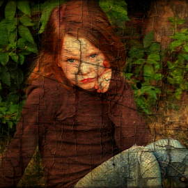 Having A Thoughtful Moment by Cheryl Korotky - Babies & Children Child Portraits (  )