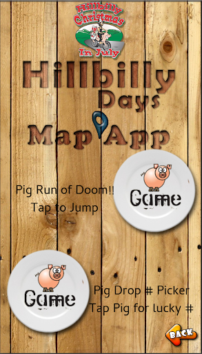 Hillbilly Days Map App For PC