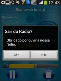 Radioweb Imarui - screenshot