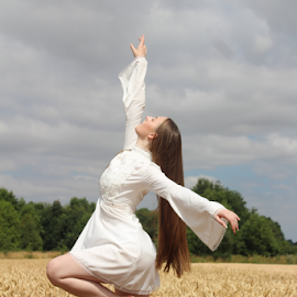 Shine by Kelly Moore - Novices Only Portraits & People ( dancer, beauty, nature, ballet, dance )