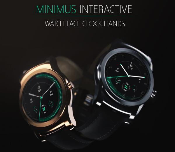 Minimus Interactive Watch Face Screenshot 1
