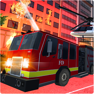 Fire Truck - Firefighter Simulator For PC / Windows 7/8/10 / Mac – Free Download