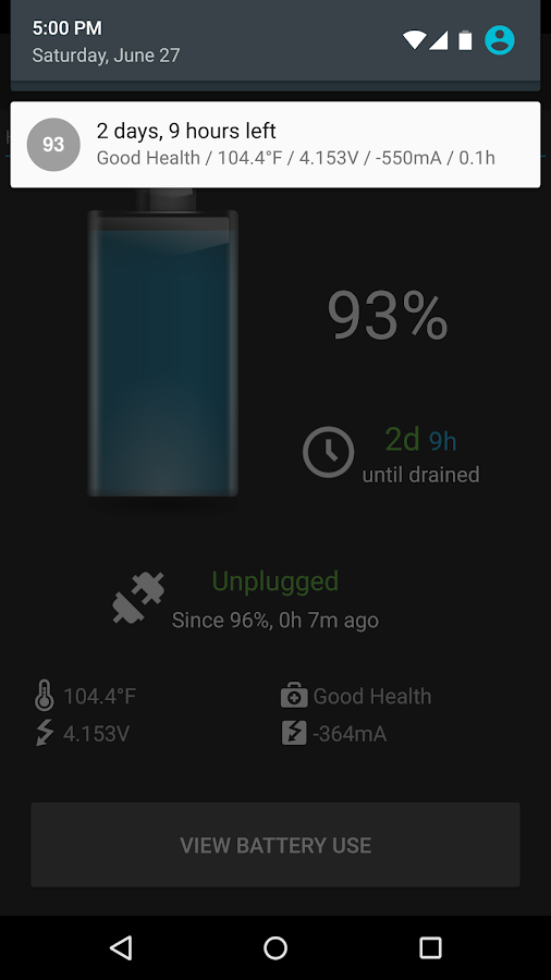 BatteryBot Pro Screenshot 1