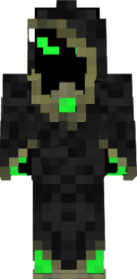 The Necromancer of green crystal of undead power