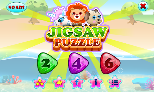 Jigsaw Puzzles Fruits Animals - screenshot