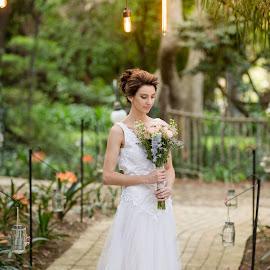 Simple by Lodewyk W Goosen (LWG Photo) - Wedding Bride ( wedding photography, wedding photographers, brides, wedding photos, wedding dress, bridal, weddings, wedding, wedding day, brideal session, wedding photographer, bridal session, bride )