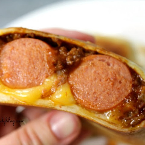 Bacon Chili Dog Burrito