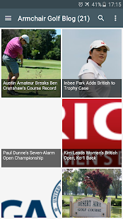 Golf News and Results - screenshot