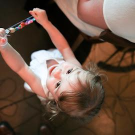 Flower Girl by Justin Quinn - Wedding Reception ( volleyball football, bruck wedding 5 )