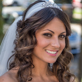 Kelly by Frank DeChirico - Wedding Bride