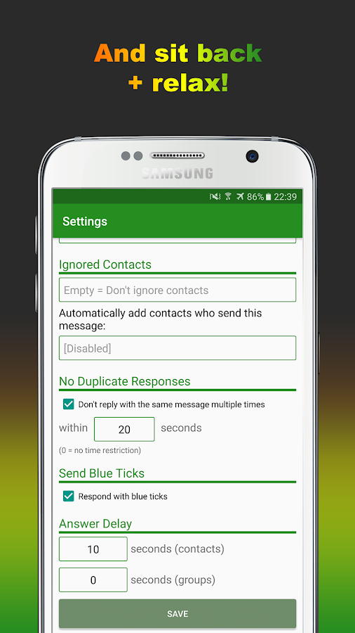 AutoResponder for WA Pro Screenshot 4