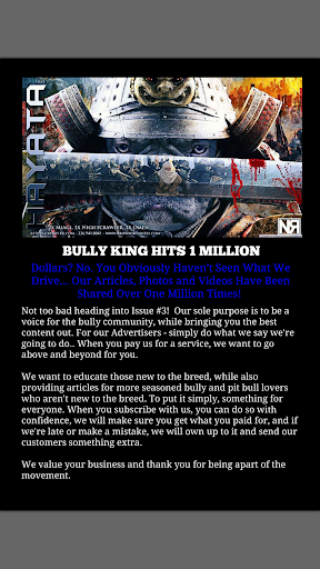BULLY KING Magazine - screenshot