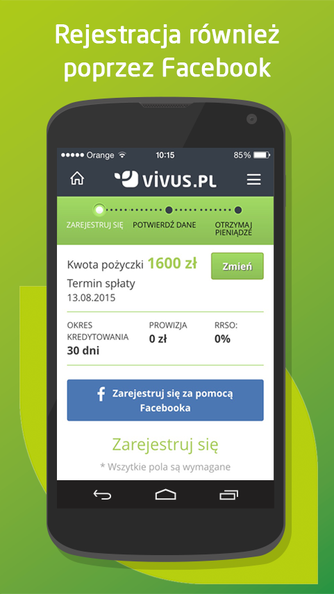 Vivus.pl Screenshot 2