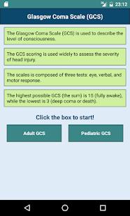 Glasgow Coma Scale: GCS Score, Consciousness Level for pc