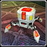 Spider Battle Robot Superhero Icon