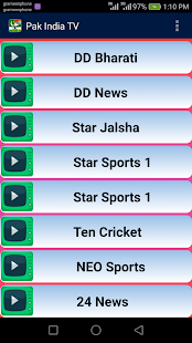 Indo Pak Live TV Channels Free - screenshot