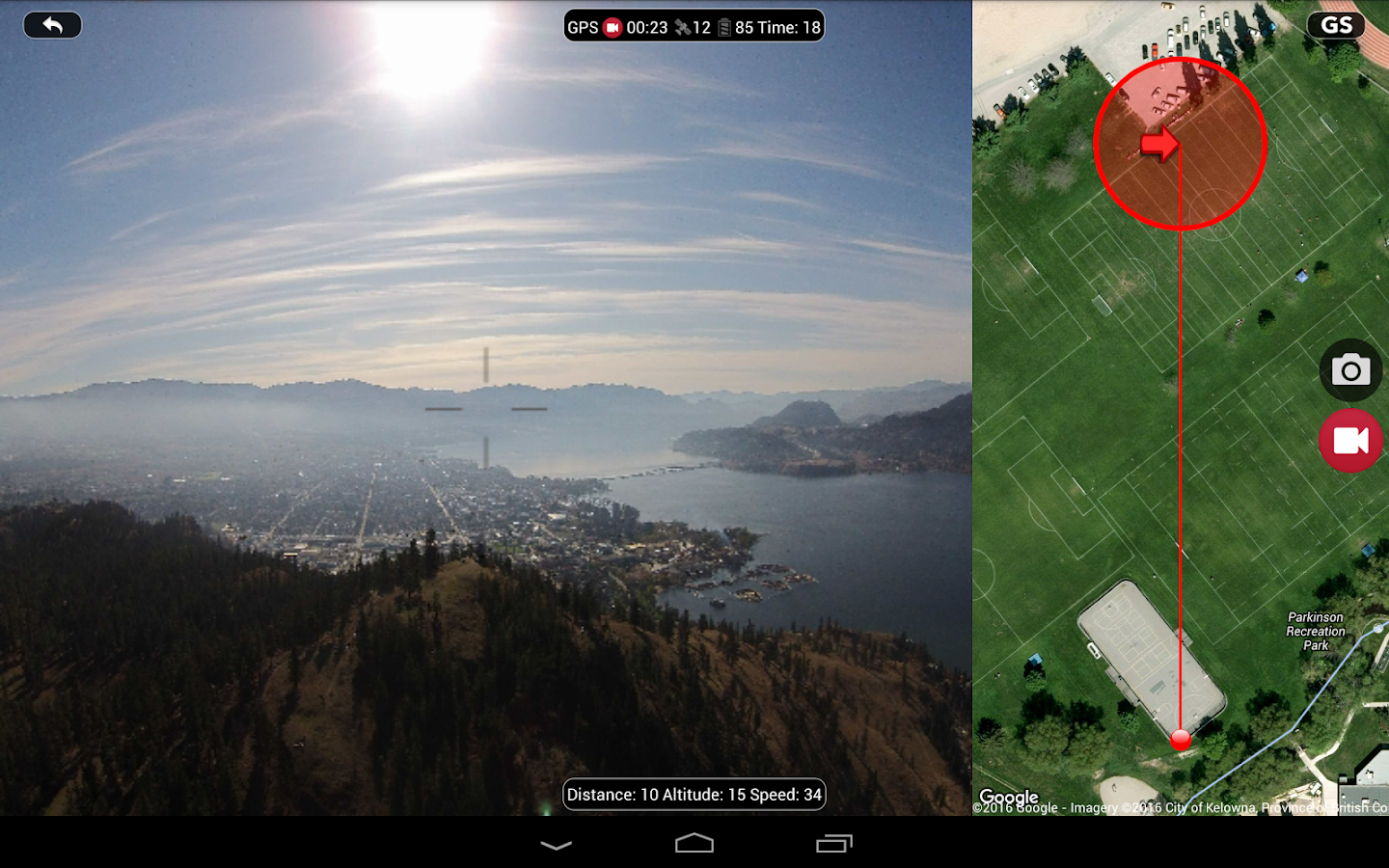 DJI Phantom Flight (v3) Screenshot 6