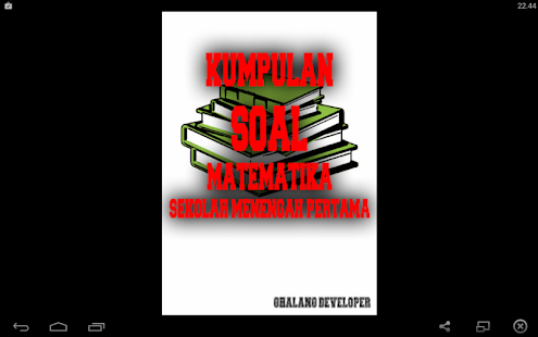 Kumpulan Soal Matematika Smp Apk For Bluestacks Download Android Apk Games Amp Apps For Bluestacks